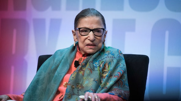 Ruth Bader Ginsburg hospitalized for treatment of possible infection