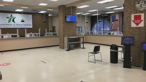 Department of Motor Vehicles offices reopen in North Texas