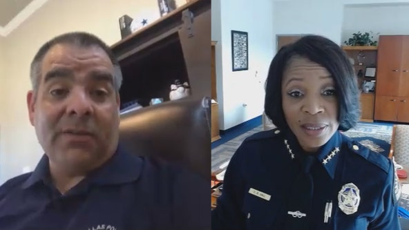Dallas police chief, DPA president condemn officers in George Floyd video