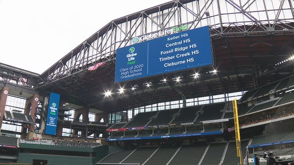 Instead of baseball, high school graduations will be debut events at Globe Life Field