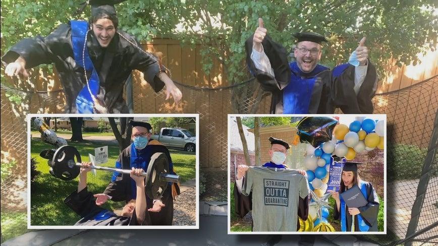 Dallas high school principal travels 1500 miles to hand-deliver diplomas to each graduating senior