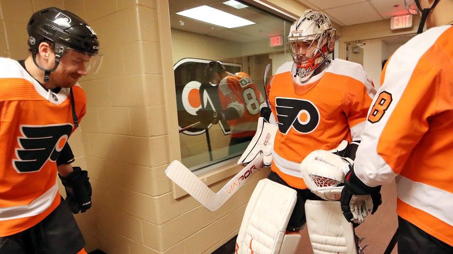 86822e37-Buffalo Sabres v Philadelphia Flyers