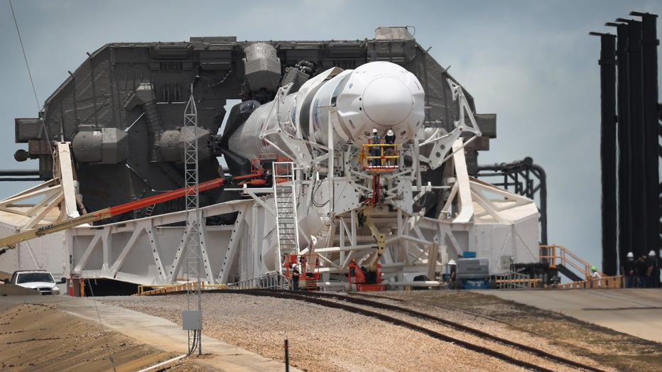 3f6e1767-NASA Prepares For First Manned Space Launch Since 2011