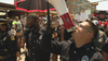 Officers march in solidarity with Dallas protesters in police-planned rally
