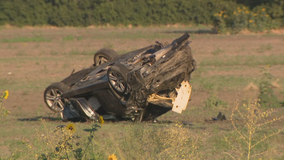 Passenger killed, driver arrested after Frisco rollover crash
