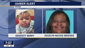 Amber Alert canceled after Irving 7-month-old found safe; mom still at-large
