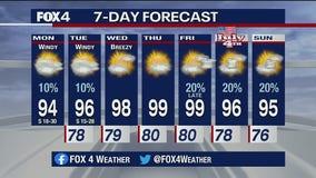June 29 morning forecast