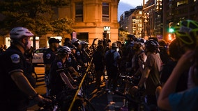 Tension overnight after protesters cleared from area near White House