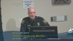 Fort Worth police chief defends police response to citywide protests