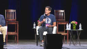 Mark Cuban, Deion Sanders discuss race relations during Dallas Heal America Tour