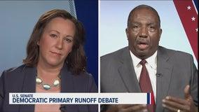 Sen. Royce West, M.J. Hegar clash in Democratic primary runoff debate