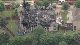 Lightning ignites string of house fires in Denton County