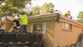 North Texas veteran's roof replaced for free