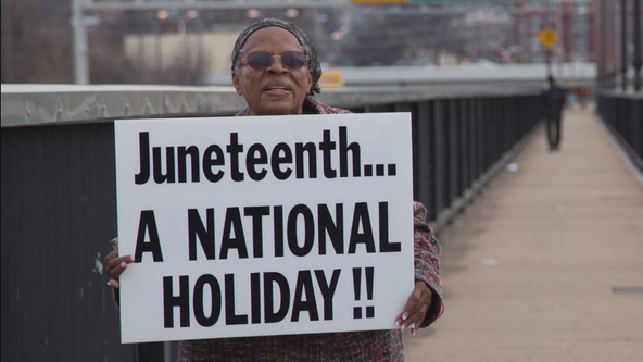Legislation introduced to make Juneteenth a national holiday