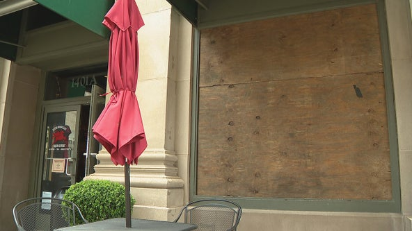 Dallas businesses rebounding from coronavirus now dealing with vandalism