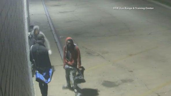 Trackdown: 2 arrests made in Dallas gun range burglary; 3rd suspect still sought