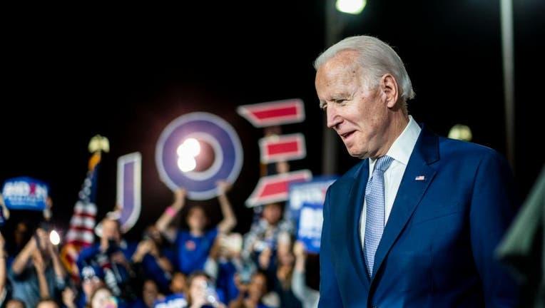 Democratic Presidential candidate former Vice President Joe Biden - Super Tuesday