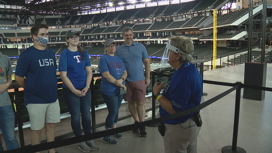 Texas Rangers fans get first look at Globe Life Field as tours begin