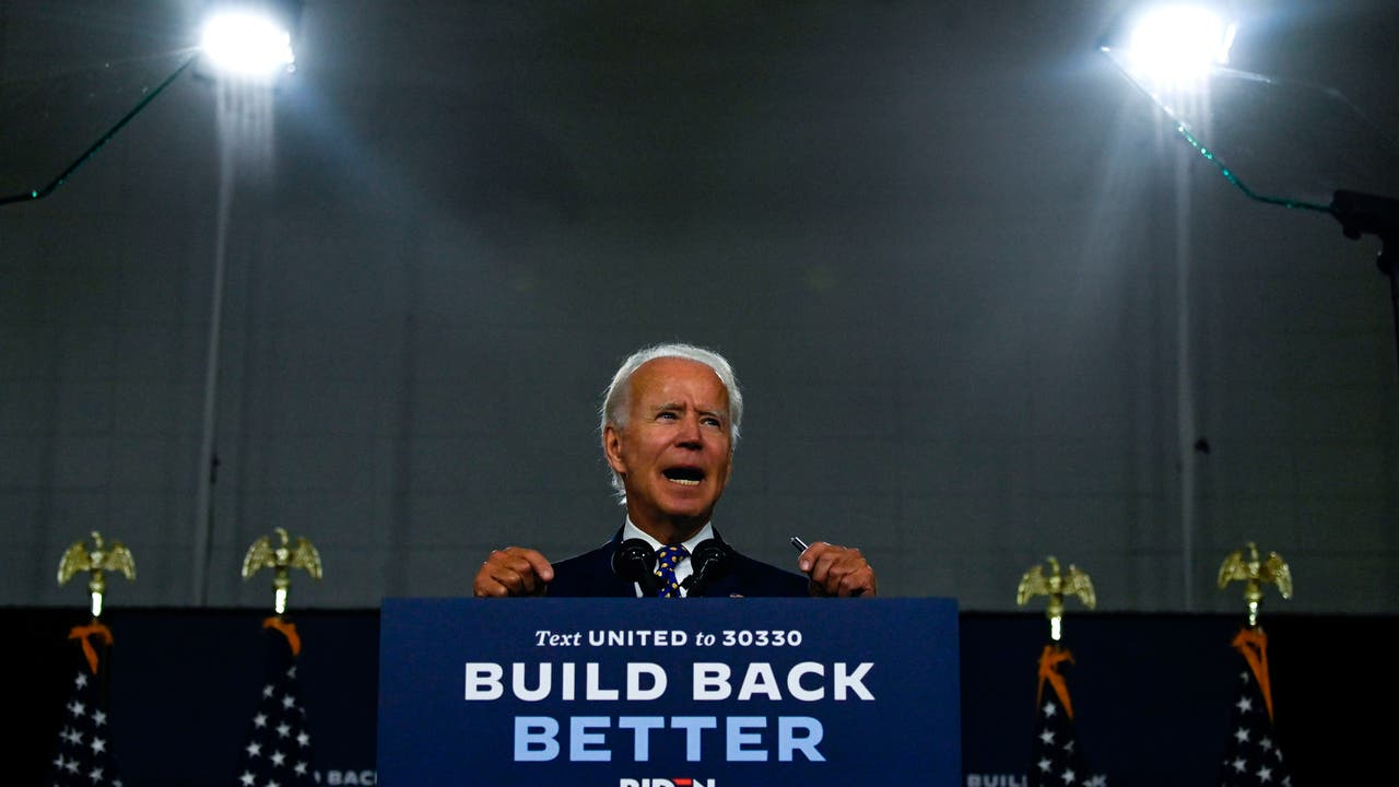 Joe Biden`s search for a running mate enters...