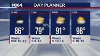 July 15 overnight forecast