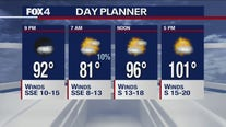 July 13 evening forecast