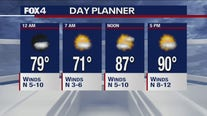 July 31 overnight forecast
