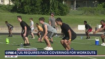 UIL now requiring student athletes to wear face masks