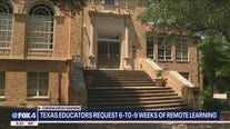 North Texas educators want Gov. Abbott to start school with 6-9 weeks of remote learning
