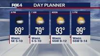 July 10 evening forecast