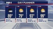 July 10 overnight forecast
