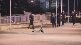 1 dead, 1 critically injured in shooting on Dallas pedestrian bridge