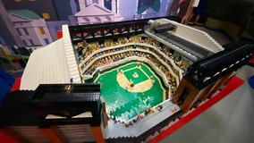 LEGOLAND Discovery Center Dallas Ft. Worth unveils replica of new Rangers ballpark
