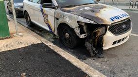 Multiple Philadelphia police vehicles set on fire across the city overnight
