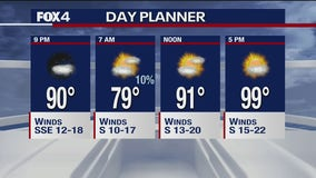 July 14 evening forecast