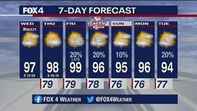 July 1 morning forecast