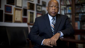 A young John Lewis graces TIME Magazine's commemorative cover