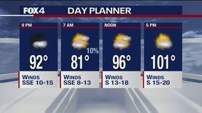July 13 evening forecast