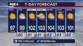 July 9 morning forecast