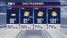 July 13 overnight forecast