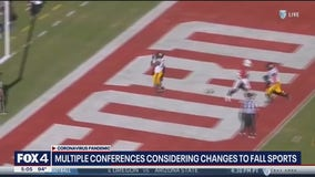 Multiple conferences considering changes to fall sports