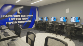 Mavs gift computer lab to Arlington homeless shelter