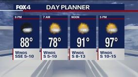 July 8 evening forecast