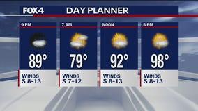 July 9 evening forecast