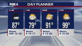 July 14 overnight forecast