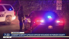 Sheriff's deputy and police officer wounded in Parker County