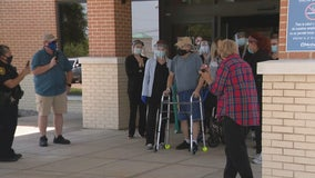 Dallas ISD police sergeant beats COVID-19 after 100 days in the hospital