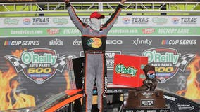 Dillon leads 1-2 RCR finish in Cup race before fans at Texas Motor Speedway