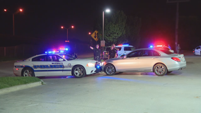 Man arrested after leading officers on high-speed chase that started in Forney