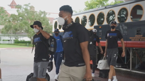 Mavericks arrive in Orlando to get ready for NBA restart