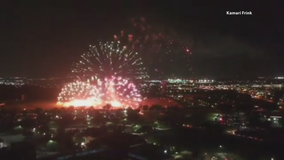 Fourth of July fireworks mishap in Plano causes several grass fires